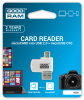 GOODRAM AO20-MW01R11 :: USB 2.0 и micro USB четец за карти, microSD и microSDHC