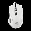 WHITE SHARK GM-1605W :: Геймърска мишка Hercules, 4800dpi, бяла