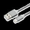 SBOX IPH7-GR :: Кабел за данни USB към Lightning, 1.5 м, сив