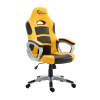 WHITE SHARK SPEED MASTER :: Gaming Chair, Yellow/Black