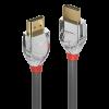LINDY 37871 :: Кабел HDMI 2.0 Cromo Line, 4K, 60Hz, 30 AWG, 1m