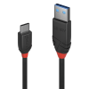 LINDY 36915 :: Kабел USB 3.1 Type A към Type C, M-M, Black Line 0.5m