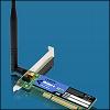 Linksys WMP54G :: Безжичен мрежов адаптер, PCI, 802.11g
