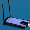 Linksys WUSB300N :: Безжичен мрежов адаптер, USB, 802.11n