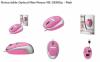 Trust 15488 :: Оптична мини-мишка, прибиращ се кабел, MI-2850SP, розова