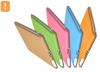 TECHGIANT SC01-Orange :: Sticky Case предпазен калъф за iPad2, оранжев цвят
