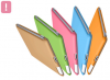 TECHGIANT SC01-Pink :: Sticky Case предпазен калъф за iPad2, розов цвят