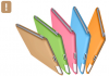 TECHGIANT SC01-Brown :: Sticky Case предпазен калъф за iPad2, кафяв цвят