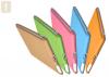 TECHGIANT SC01-WhiteCream :: Sticky Case предпазен калъф за iPad2, цвят бял крем